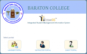 Baraton College Online Management System