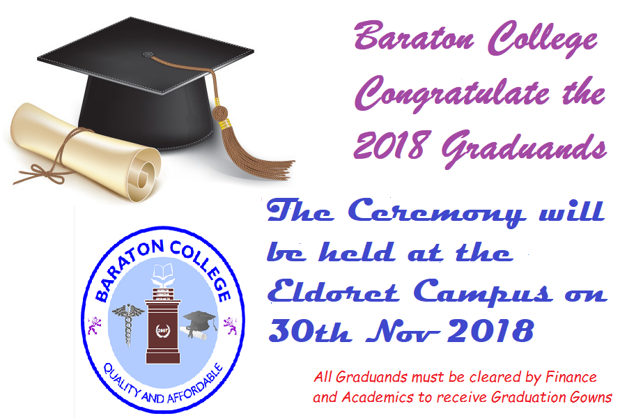 Baraton 2018 Graduation Ceremony